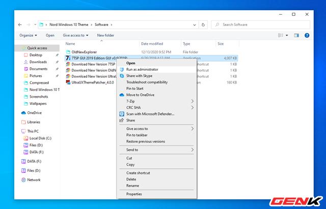 Hướng dẫn cài Nord Windows 10 Theme, giao diện nền tối siêu chất - Ảnh 10.