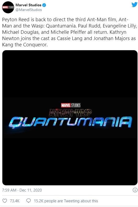 Ant-Man and the Wasp: Quantumania xác nhận nhân vật phản diện chính của phim - Ảnh 2.