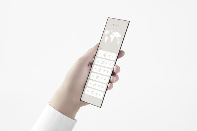 OPPO trình làng concept smartphone có thể gập nhiều lần, kích thước màn hình 7 inch có thể thu gọn bằng chiếc thẻ visa - Ảnh 6.