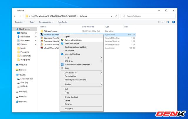 Hướng dẫn cài ko-Z for Windows 10, thêm một giao diện nền tối cực chất dành cho bạn - Ảnh 10.