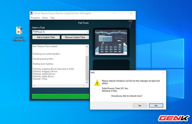 Hướng dẫn cài ko-Z for Windows 10, thêm một giao diện nền tối cực chất dành cho bạn - Ảnh 14.