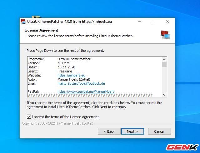 Hướng dẫn cài ko-Z for Windows 10, thêm một giao diện nền tối cực chất dành cho bạn - Ảnh 8.