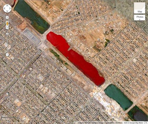 Những địa điểm kỳ lạ được phát hiện bởi Google khiến con người phải kinh ngạc - Ảnh 2.
