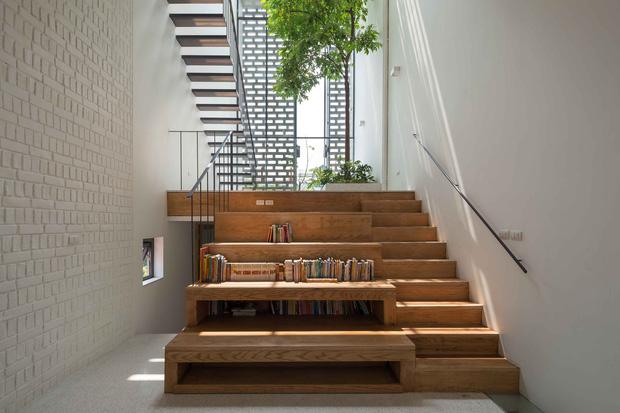 Nhà ống Hà Nội với thiết kế có một không hai, nhẵn mặt mọi tạp chí kiến trúc lớn nhỏ trên thế giới - Ảnh 13.