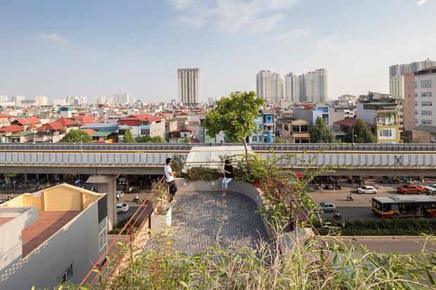Nhà ống Hà Nội với thiết kế có một không hai, nhẵn mặt mọi tạp chí kiến trúc lớn nhỏ trên thế giới - Ảnh 14.