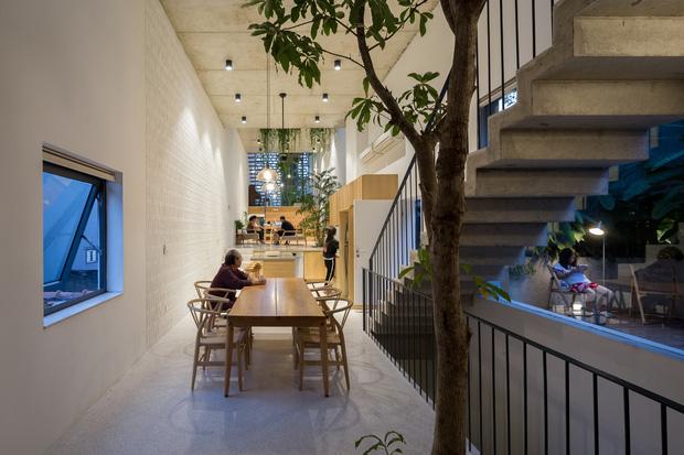 Nhà ống Hà Nội với thiết kế có một không hai, nhẵn mặt mọi tạp chí kiến trúc lớn nhỏ trên thế giới - Ảnh 4.