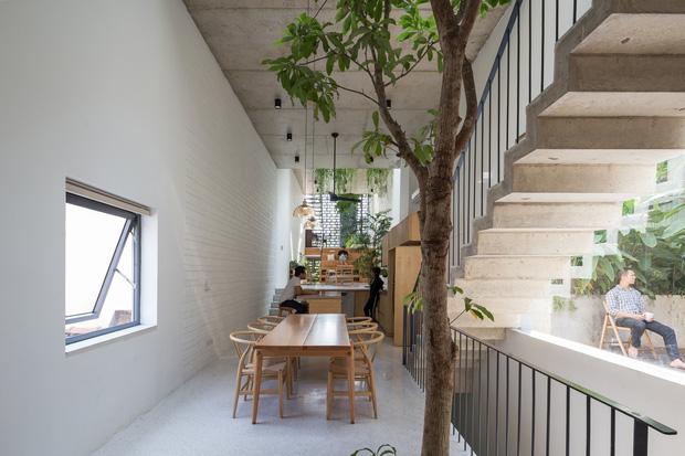 Nhà ống Hà Nội với thiết kế có một không hai, nhẵn mặt mọi tạp chí kiến trúc lớn nhỏ trên thế giới - Ảnh 5.