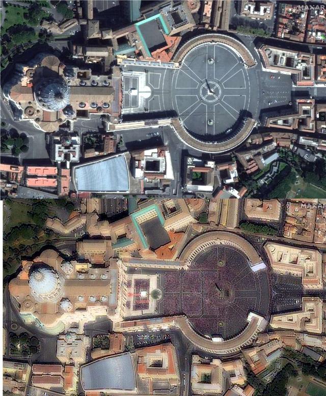 2020 - Một năm khốc liệt của tự nhiên và cả con người: Chùm ảnh từ vệ tinh ghi lại những sự kiện đã định hình lại thế giới trong năm qua - Ảnh 4.