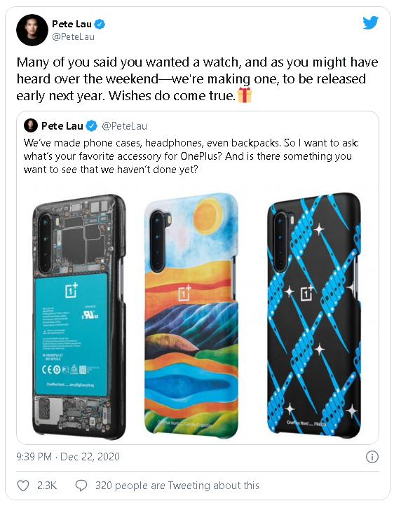 OnePlus xác nhận sẽ ra mắt chiếc smartwatch đầu tiên của mình vào đầu năm 2021 - Ảnh 2.