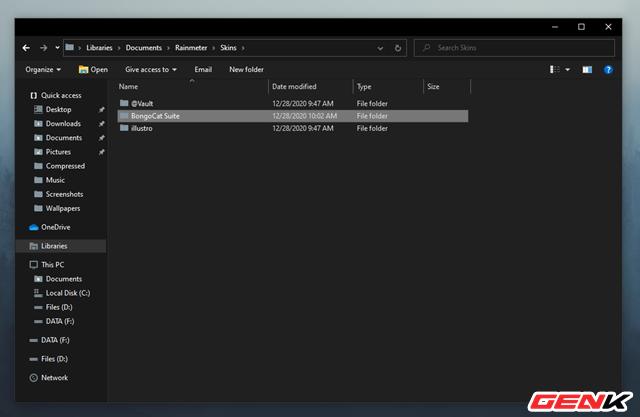 Màn hình Desktop Windows 10 sẽ cá tính hơn với bộ giao diện Bongo Cat - Ảnh 10.