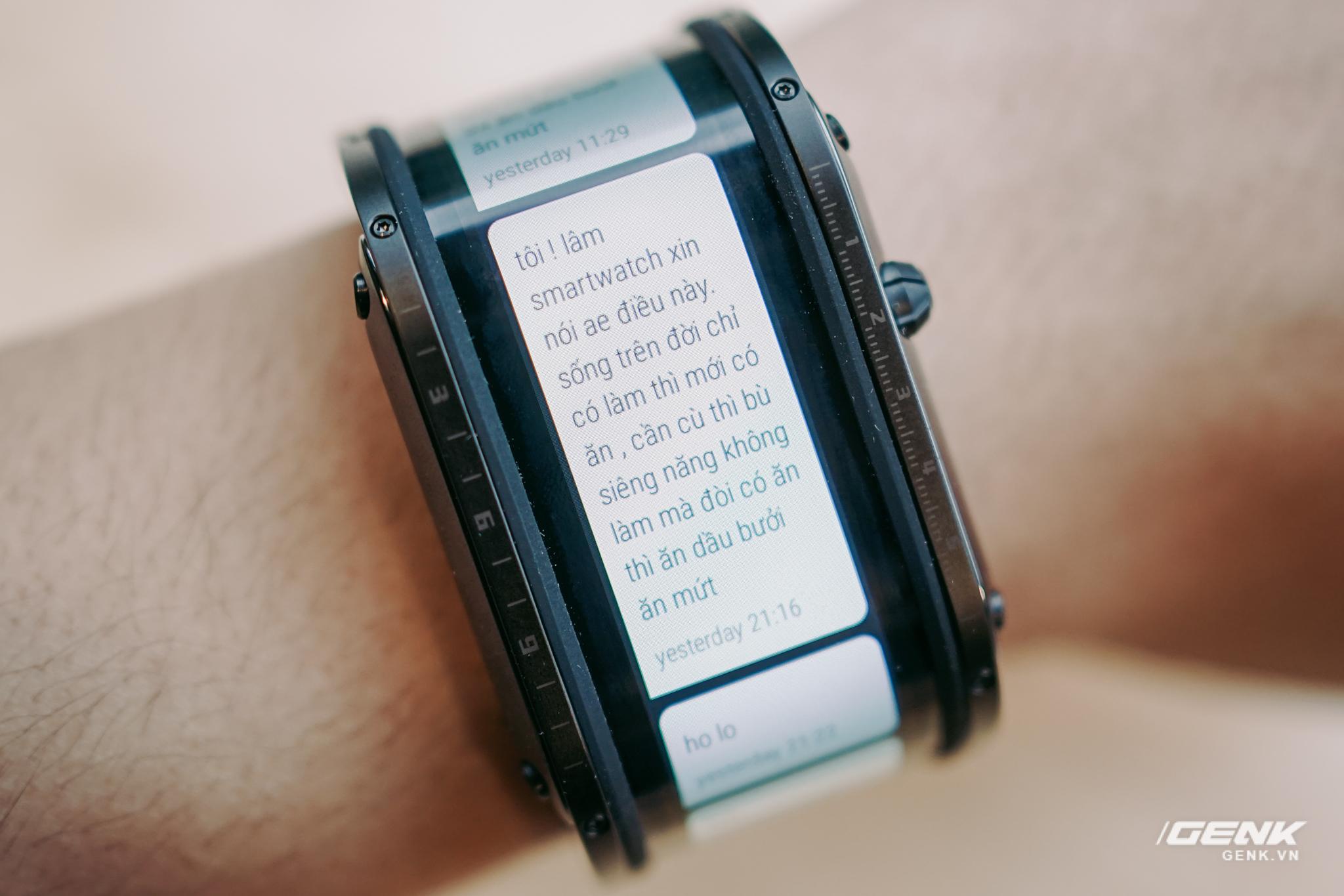 Trên tay Nubia Watch: Smartwatch màn hình uốn dẻo siêu dị không dành cho người bình thường - Ảnh 7.