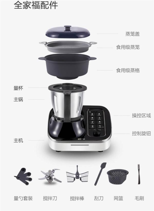 Xiaomi gây quỹ cho robot nấu ăn đa năng - Ảnh 3.