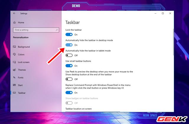 Hô biến Desktop của Windows 10 thành trạm không gian với bộ giao diện Neon Space - Ảnh 12.