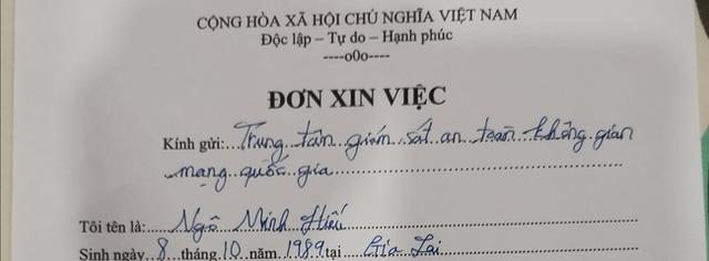 """Vừa trở về Việt Nam sau 7 năm ngồi tù ở Mỹ, hacker """"Hieupc"""" đã trúng tuyển vào trung tâm an ninh mạng quốc gia - Ảnh 2."""