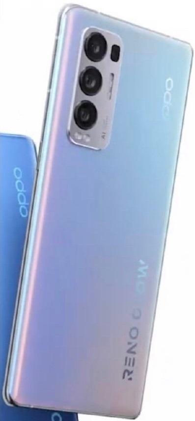 OPPO Reno5 Pro+ 5G lộ diện: Snapdragon 865, cảm biến 50MP Sony IMX7xx, mặt lưng có khả năng thay đổi màu sắc - Ảnh 1.