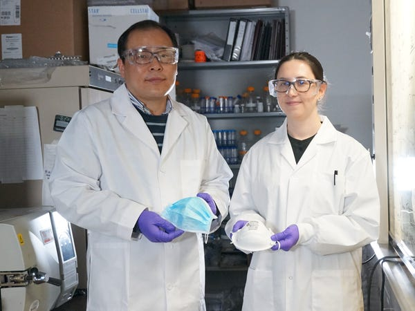 Các nhà khoa học phát triển được khẩu trang phủ muối có thể tiêu diệt mầm bệnh virus - Ảnh 3.