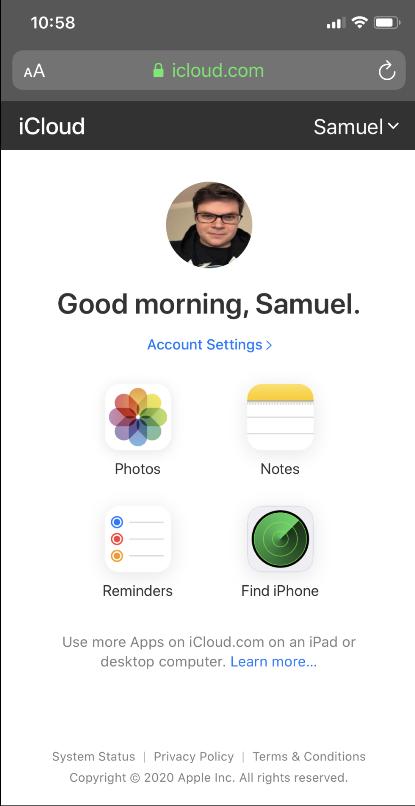 Apple mang iCloud lên Android thông qua trình duyệt web - Ảnh 3.