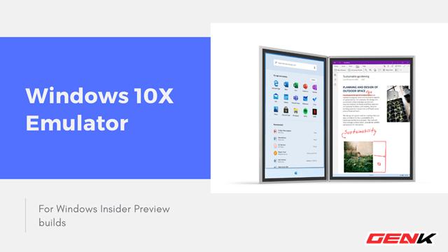 Cách dùng thử Windows 10X ngay trên Windows 10 mà không cần cài đặt - Ảnh 1.