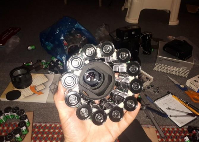 YouTuber kiêm nhiếp ảnh gia biến hàng trăm vỏ film 35mm thành máy ảnh film cực độc - Ảnh 12.