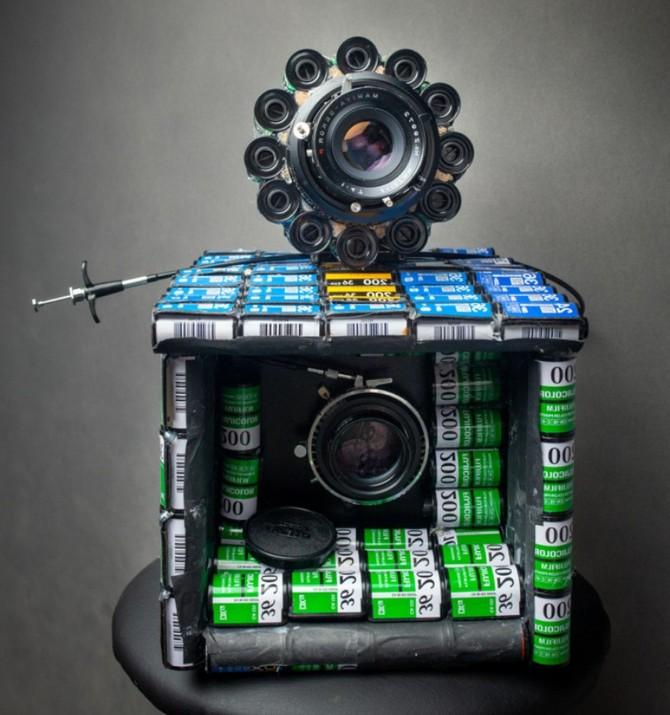 YouTuber kiêm nhiếp ảnh gia biến hàng trăm vỏ film 35mm thành máy ảnh film cực độc - Ảnh 3.