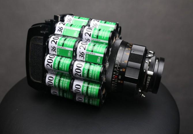 YouTuber kiêm nhiếp ảnh gia biến hàng trăm vỏ film 35mm thành máy ảnh film cực độc - Ảnh 4.