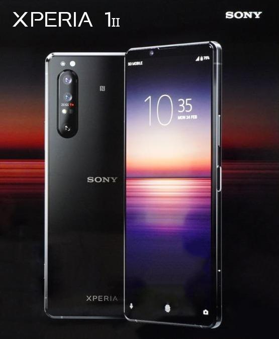 Sony Xperia 1 II lộ diện: Màn hình OLED 21:9, 4 camera ZEISS, chip Snapdragon 865 - Ảnh 2.
