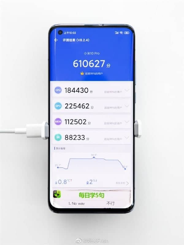 Xiaomi Mi 10 Pro phá vỡ kỷ lục AnTuTu với hơn 610.000 điểm - Ảnh 3.