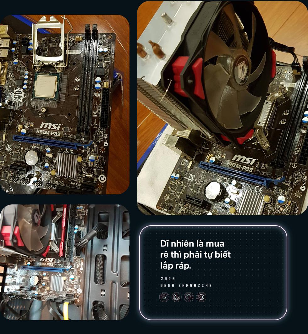 Giấc mơ thành hiện thực: Build một chiếc PC giá 5,6 triệu đồng để chiến các tựa game mới nhất - Ảnh 7.