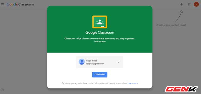 Nghỉ Tết lâu sợ mất chữ ? Hãy thử tạo lớp học Online với dịch vụ miễn phí Classroom của Google - Ảnh 2.
