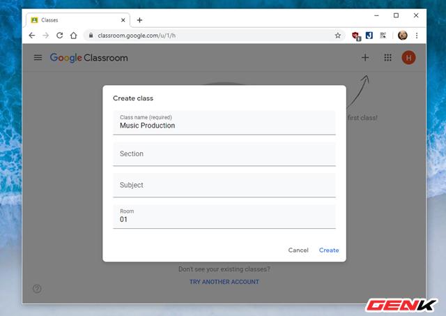Nghỉ Tết lâu sợ mất chữ ? Hãy thử tạo lớp học Online với dịch vụ miễn phí Classroom của Google - Ảnh 5.