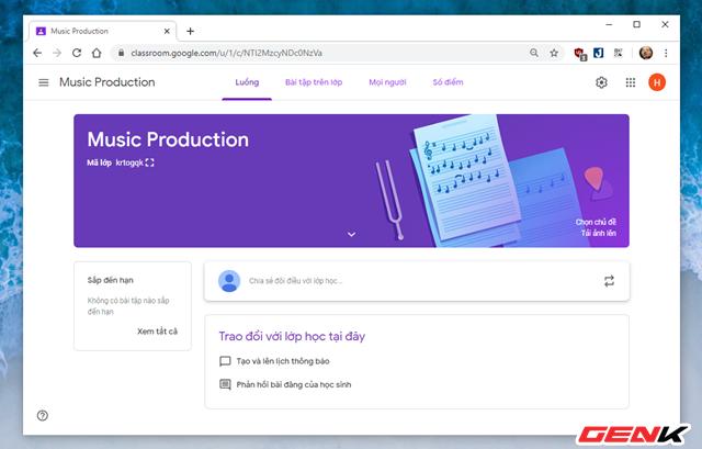 Nghỉ Tết lâu sợ mất chữ ? Hãy thử tạo lớp học Online với dịch vụ miễn phí Classroom của Google - Ảnh 6.