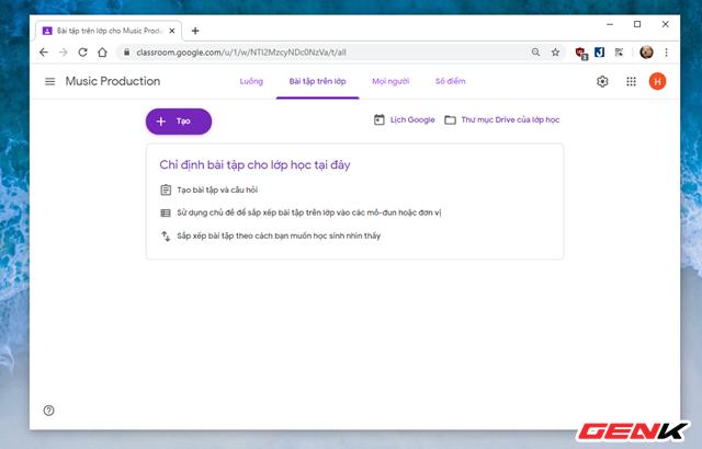 Nghỉ Tết lâu sợ mất chữ ? Hãy thử tạo lớp học Online với dịch vụ miễn phí Classroom của Google - Ảnh 8.
