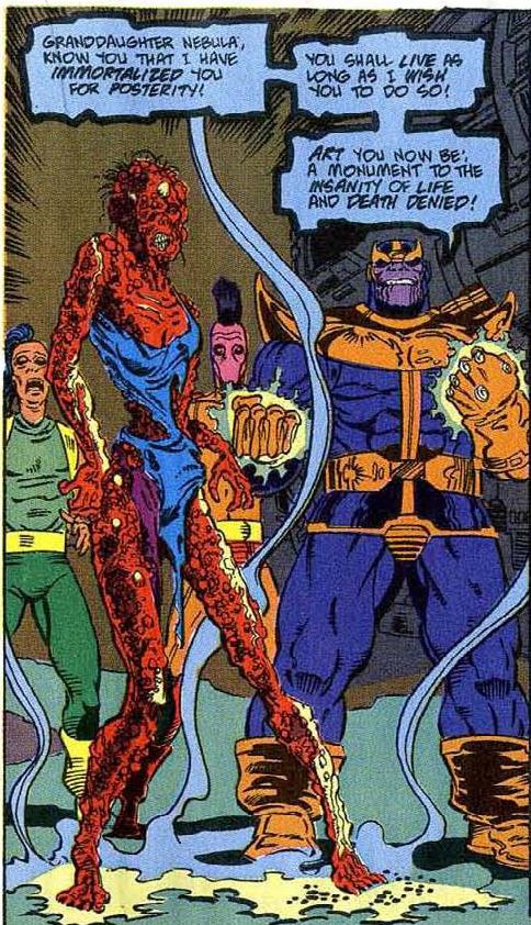 Trước khi về với đội Thanos, số phận và diện mạo Nebula trong truyện tranh ra sao? - Ảnh 6.