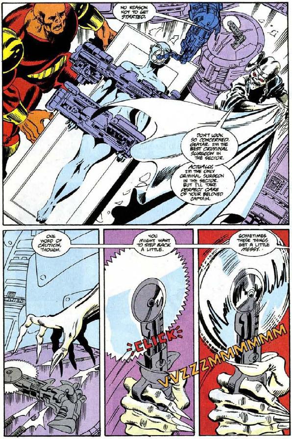 Trước khi về với đội Thanos, số phận và diện mạo Nebula trong truyện tranh ra sao? - Ảnh 9.