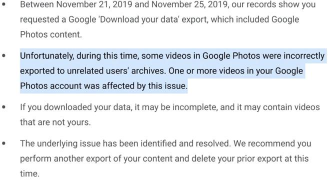 Google Photos chia sẻ nhiều video riêng tư của một số người dùng cho người lạ - Ảnh 1.