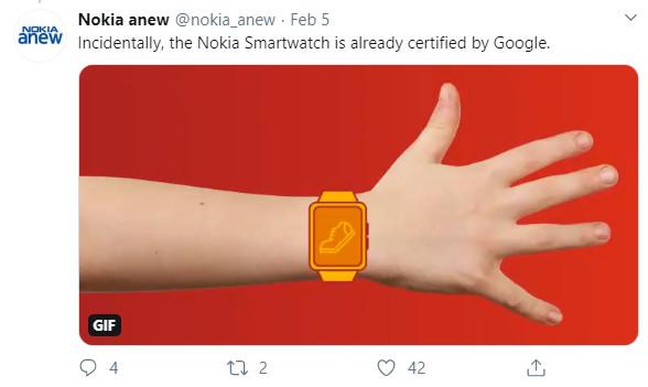 Nokia đang phát triển smartwatch, sẽ ra mắt tại MWC 2020? - Ảnh 2.