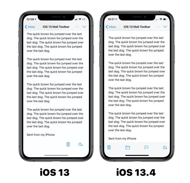 Apple tung ra iOS 13.4 Beta, sau đây là những thay đổi - Ảnh 1.