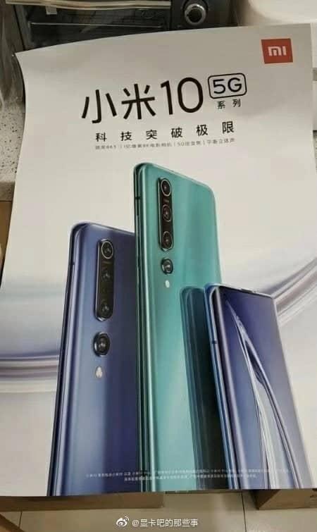 Lộ thiết kế Xiaomi Mi 10 qua poster quảng cáo - Ảnh 2.