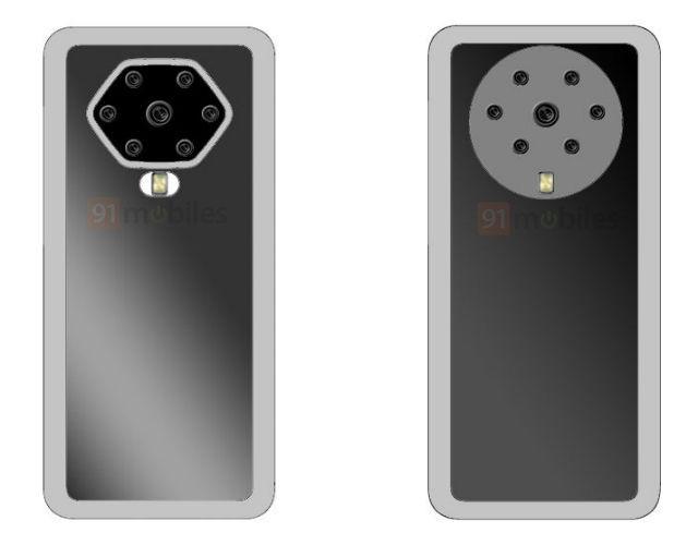 OPPO ấp ủ smartphone với 7 camera sau, không lỗ, không nút bấm - Ảnh 1.