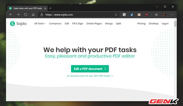 Biên tập nhanh tập tin PDF không cần đến phần mềm chuyên dụng - Ảnh 2.