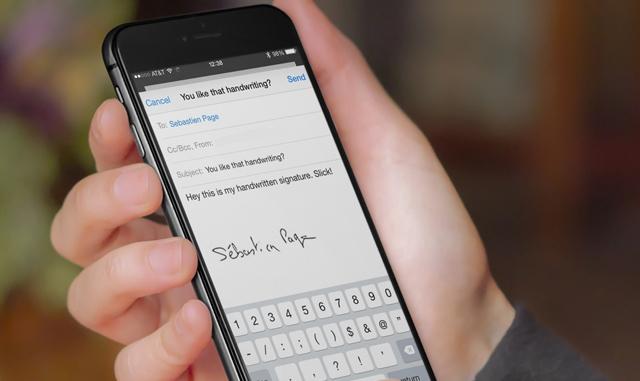 Cách tạo chữ ký cá nhân cực nhanh trên iPhone để ký các giấy tờ khi cần thiết - Ảnh 1.