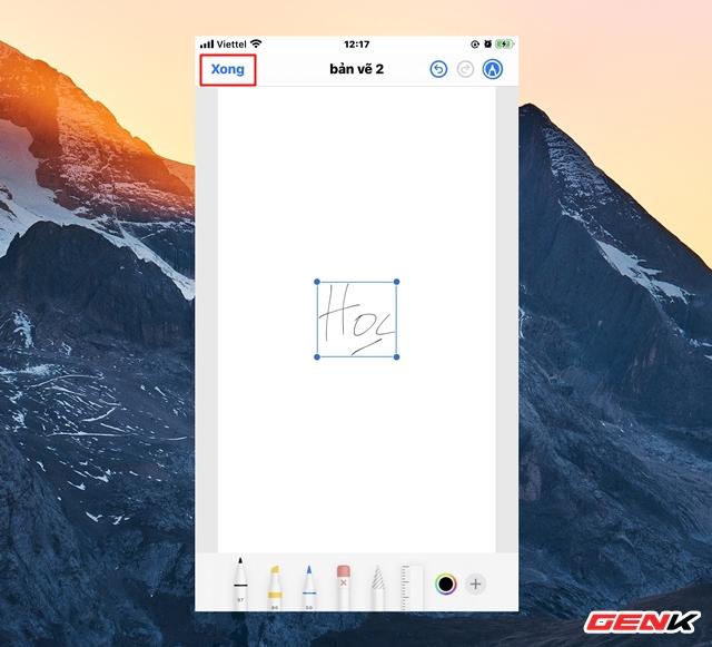 Cách tạo chữ ký cá nhân cực nhanh trên iPhone để ký các giấy tờ khi cần thiết - Ảnh 8.