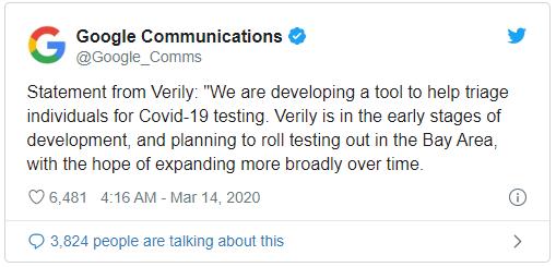 Đến Google cũng bất ngờ khi nghe TT Trump tuyên bố đang nhờ Google làm website chống virus corona - Ảnh 2.