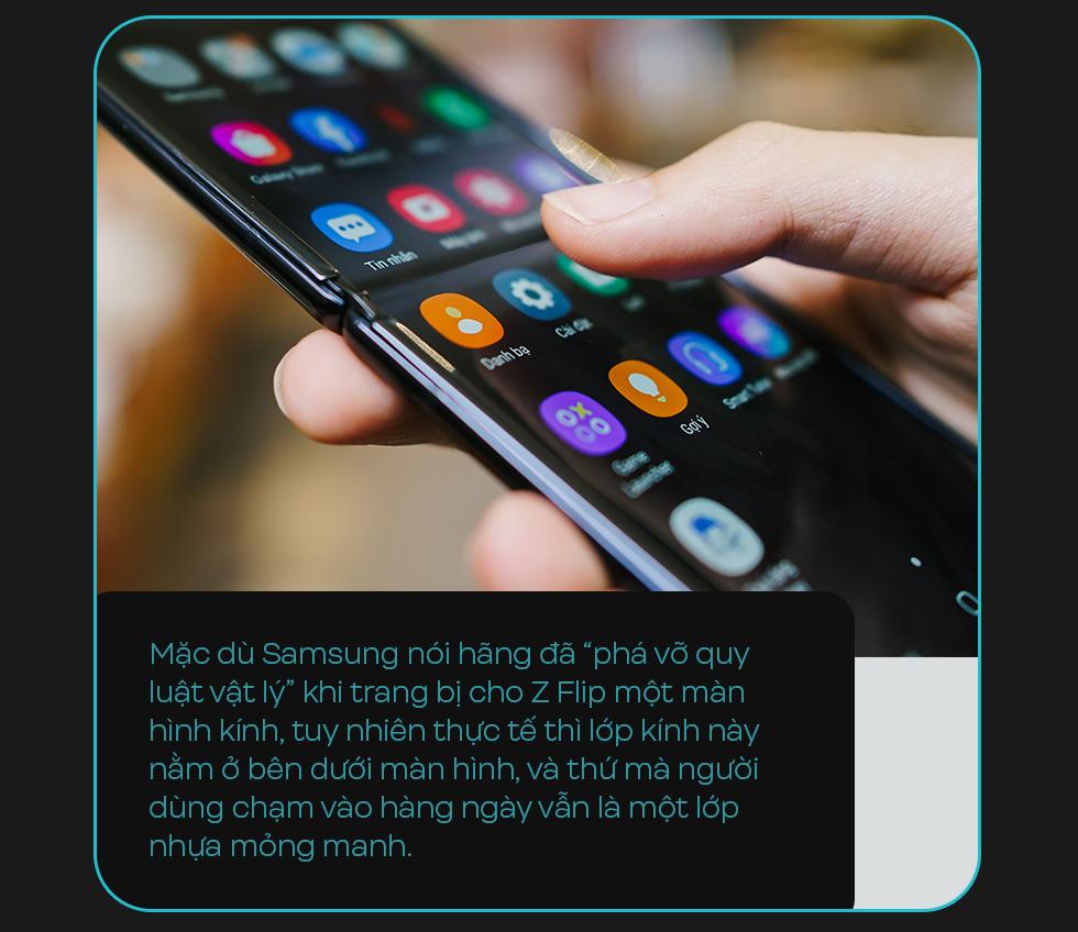 Đánh giá Galaxy Z Flip: Chiếc smartphone ấn tượng không dành cho đàn ông - Ảnh 7.