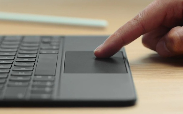 Đây là cách bàn rê chuột trên iPad hoạt động, khác hẳn với những gì chúng ta vẫn biết