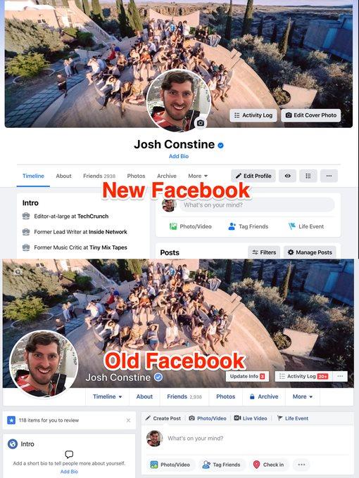 Facebook bắt đầu mời người dùng sử dụng giao diện mới - Ảnh 3.