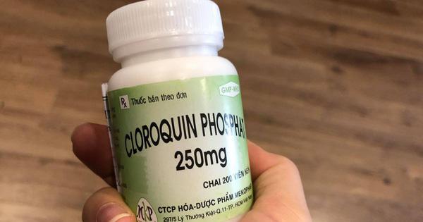 Lo ngại nếu người dân mua Chloroquine về dự phòng Covid -19