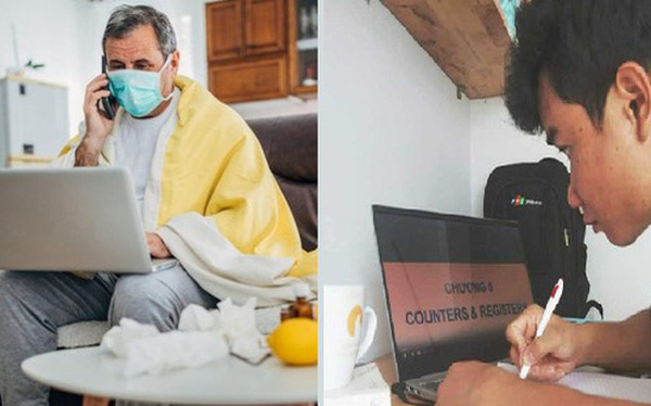 Thế giới chuyển trạng thái online vì dịch bệnh Covid-19: Người người tự cách ly, mua sắm, làm việc đều qua mạng để bảo vệ sức khỏe và thắt chặt tình cảm gia đình - Ảnh 1.