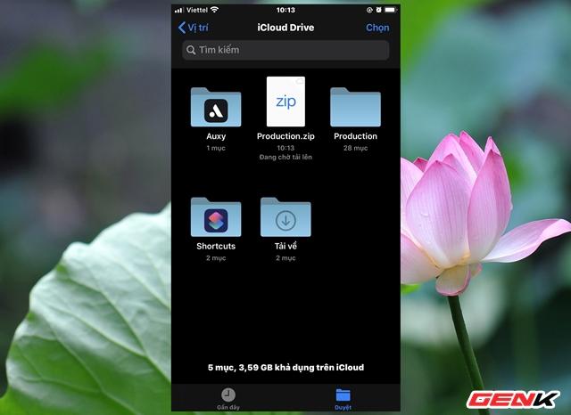 Nén và xả nén dữ liệu trực tiếp trên iPhone để giảm dung lượng lưu trữ dữ liệu - Ảnh 6.