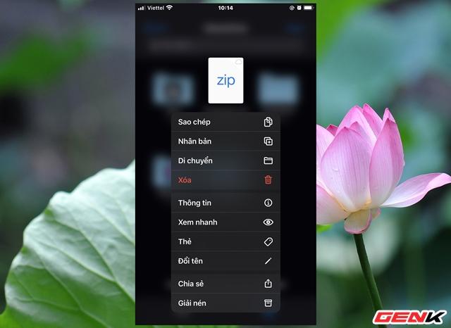 Nén và xả nén dữ liệu trực tiếp trên iPhone để giảm dung lượng lưu trữ dữ liệu - Ảnh 8.